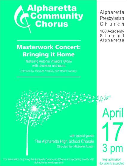 Chorus poster spring 2016 2