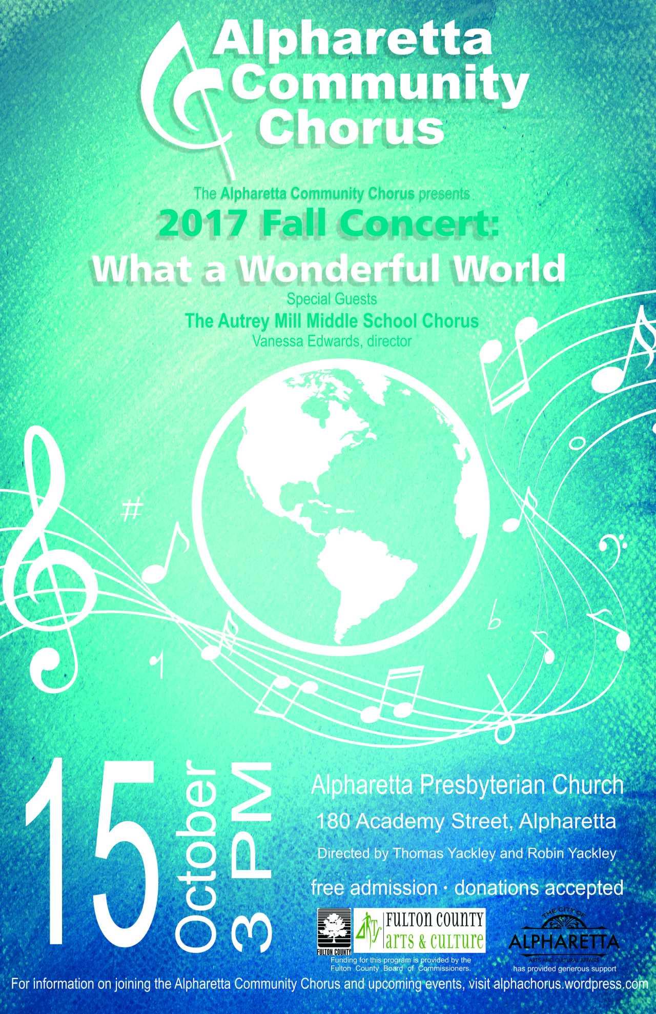 Chorus poster fall 2017 11x17