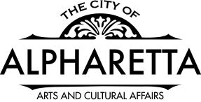 City Of Alpharetta Logo - Arts And Cultural Affairs - Black
