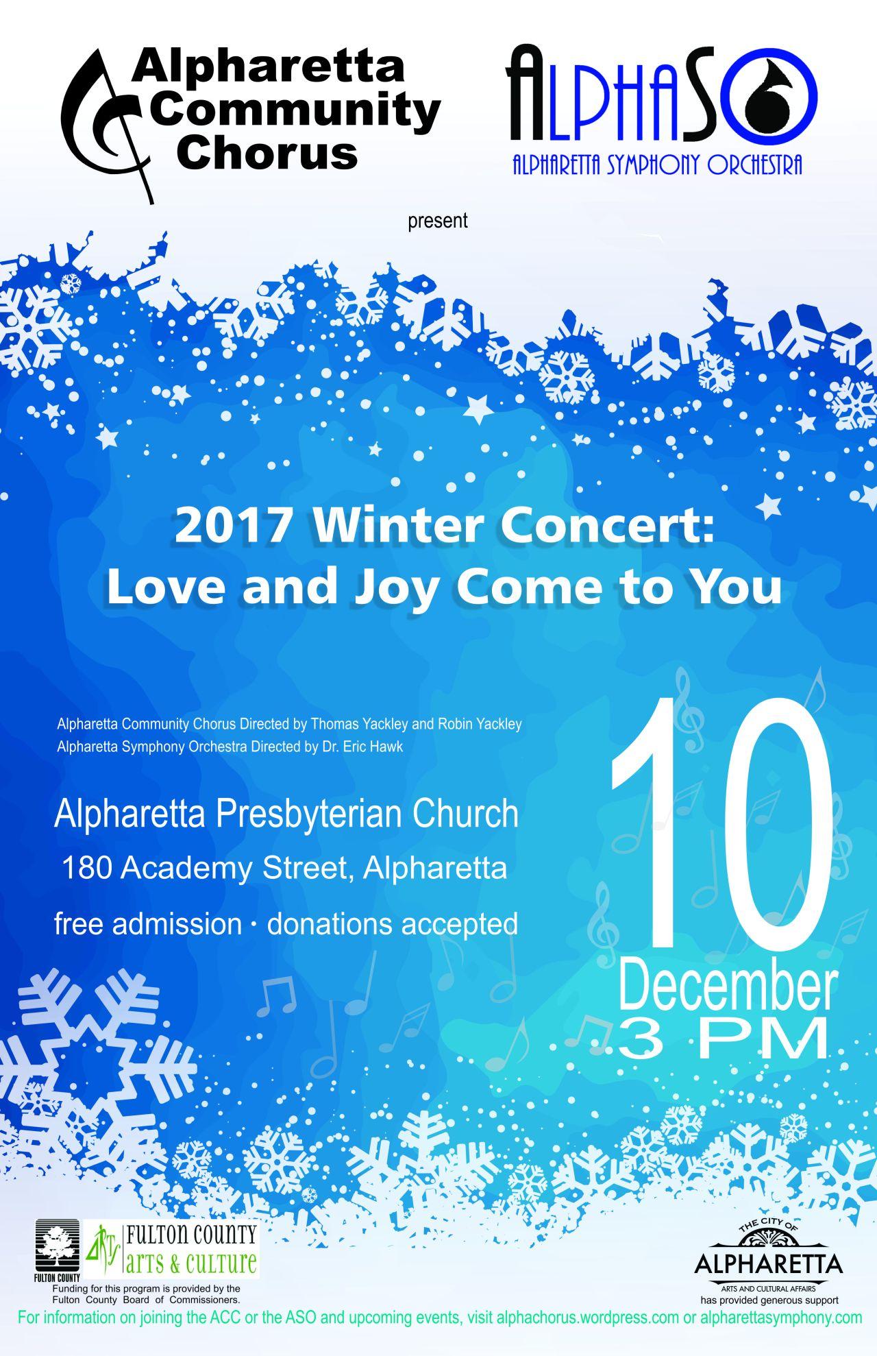 Chorus poster winter 2017 11x17