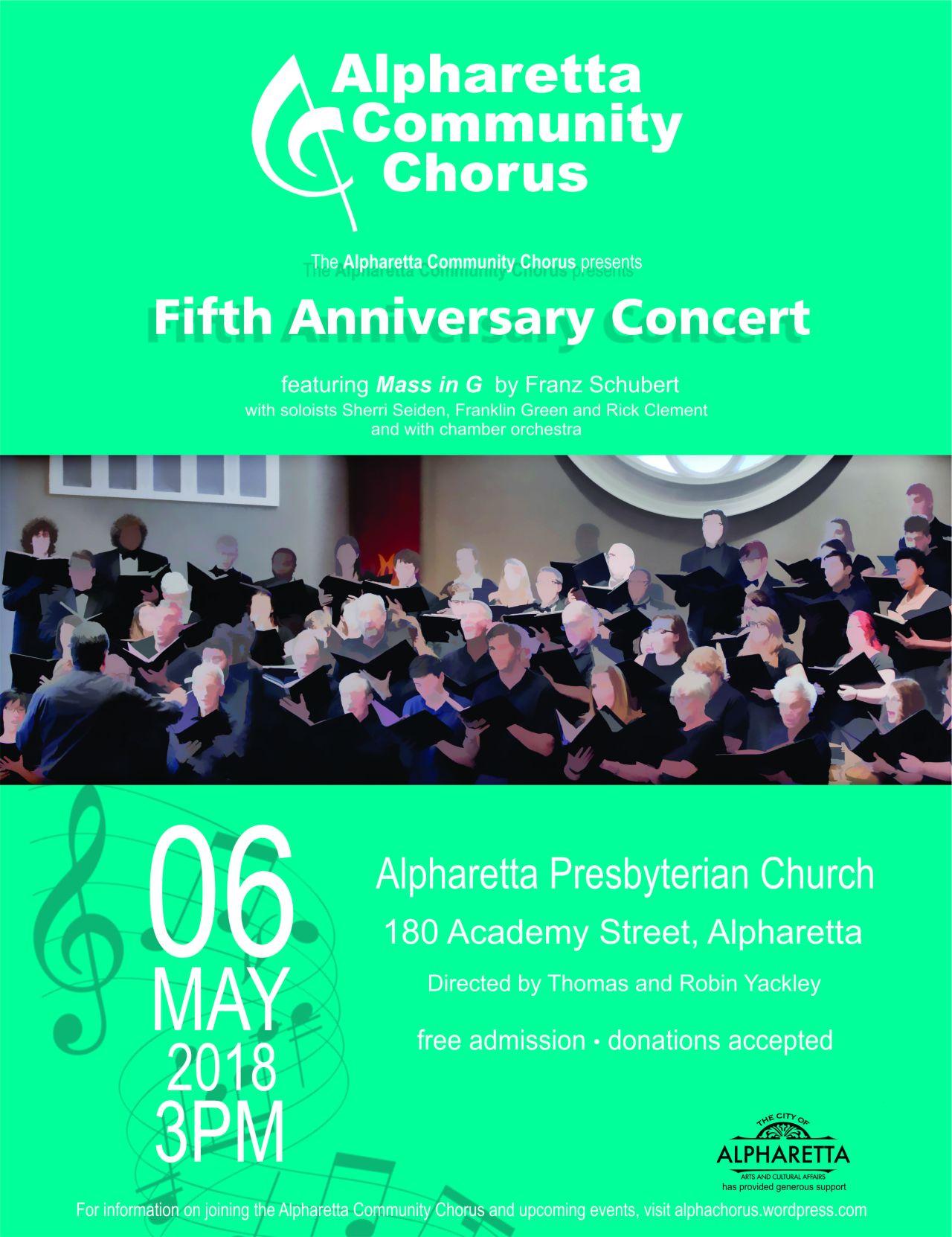Chorus poster spring 2018 8x11